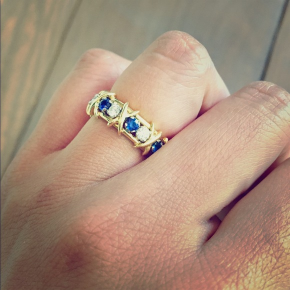 c067343ee Tiffany & Co. Jewelry | Authentic Tiffany Co Schlumberger Ring Size ...
