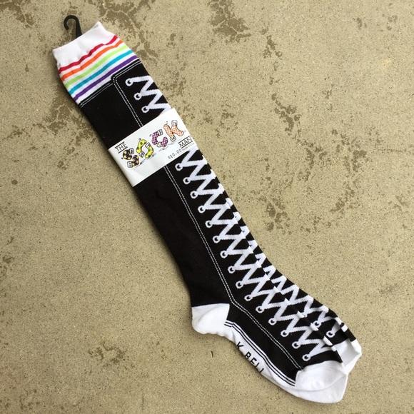 Sneaker Print Socks Nwt | Poshmark