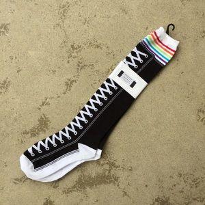 K Bell Accessories - High top Sneaker Print Socks NWT
