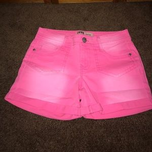 Pants - Hot Pink Shorts
