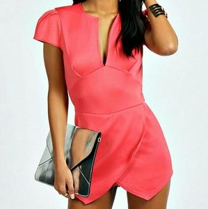 Dresses & Skirts - Pink Playsuit