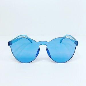 Retro Blue Sunnies