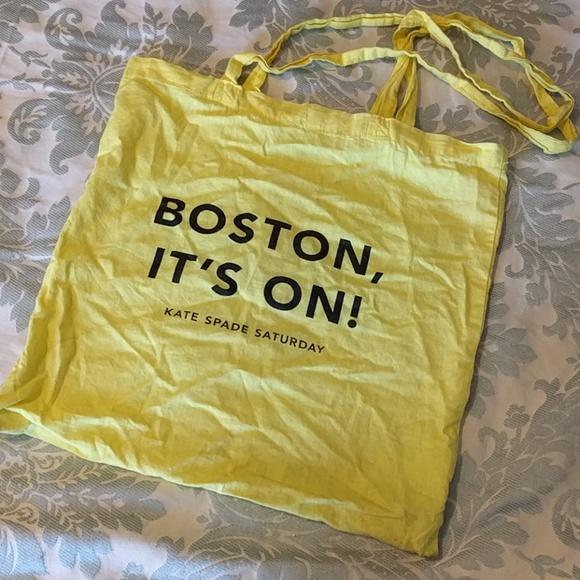 kate spade Bags - #Boston #katespade #saturday canary shopping bag