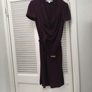 DVF silk dress Size8