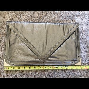 Handbags - Pewter Envelope Clutch