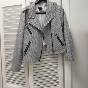 Club Monaco Moto Jacket size large