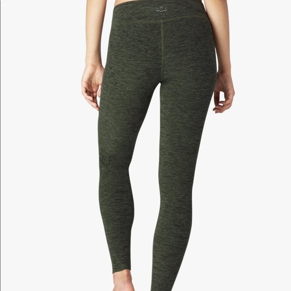 d41dfb120f5c2 Beyond Yoga Pants - Beyond Yoga green space dye long Leggings Small