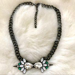 Jewelry - Jeweled Statement Necklace