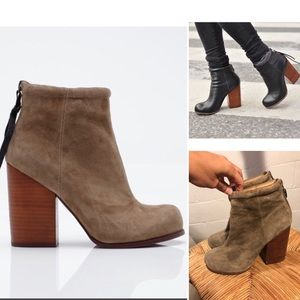 {Jeffrey Campbell} rumble leather tassel bootie