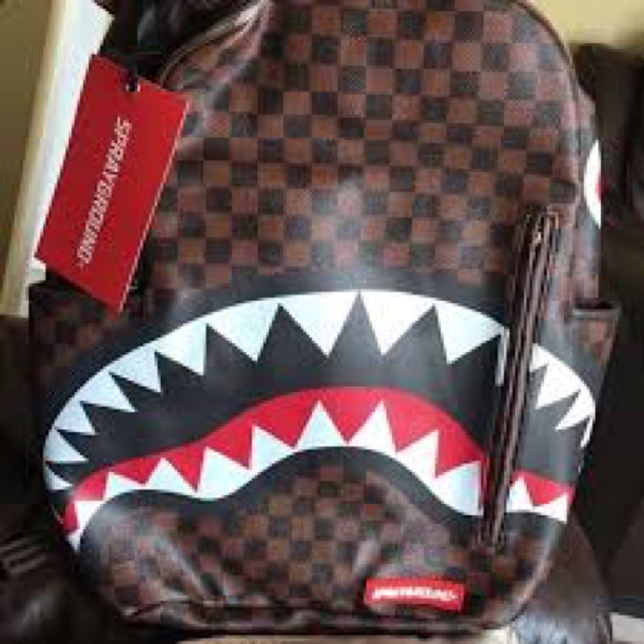 9073a6e20f32 Sprayground sharks in Paris backpack. NWT. sprayground.  300  350. Size