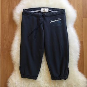 ABERCROMBIE & FITCH Crop Sweatpants for sale