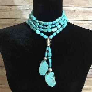 Jewelry - Statement Turquoise Choker