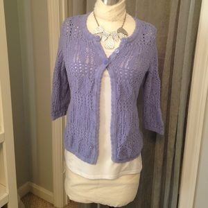 Clearance! 🎉 Periwinkle 3-Button Cardigan Sz. S