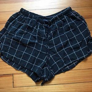 Brandy Melville grid shorts