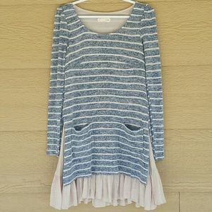 a'reve by Anthropologie sweater dress sz small