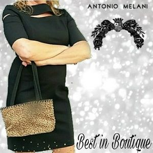 ANTONIO MELANI Sexy little Black dress.
