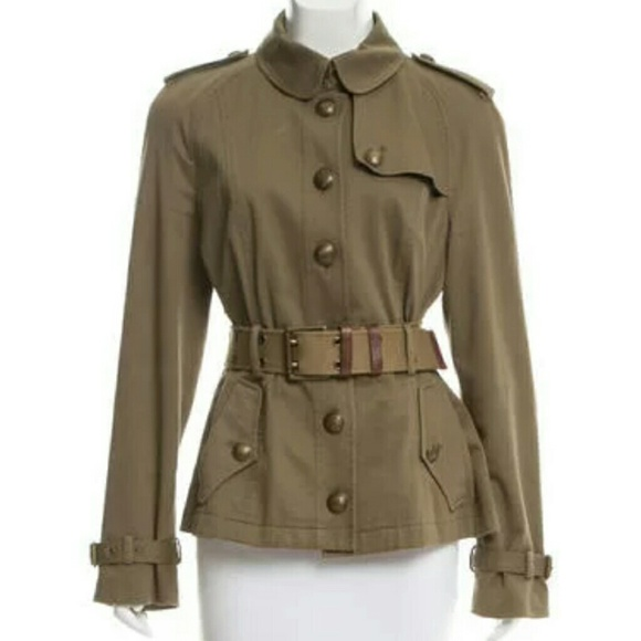 41% off Burberry Jackets & Blazers - Burberry Brit Olive Brown ...