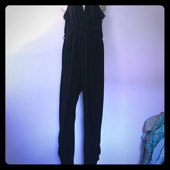 746b07e653b madrag Pants - Dressy black jumpsuit