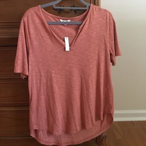 BRAND NEW. Madewell Whisper Cotton VNeck Tshirt