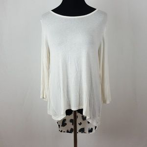 Anthropologie Tops - Anthropologie Le Lis cross over back top