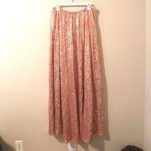 Dresses & Skirts - Sequin skirt-long NWOT