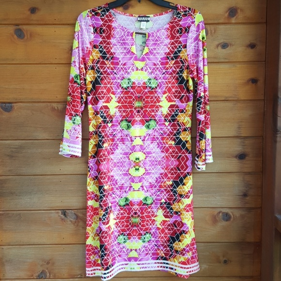 haani Dresses & Skirts - New listing ! Multicolored shees dress size small