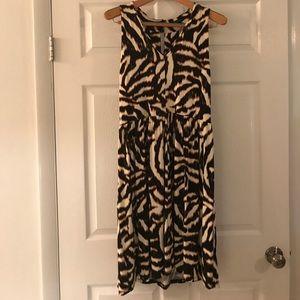 Ann Taylor Animal Print Dress