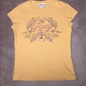 Yellow Roxy T-shirt