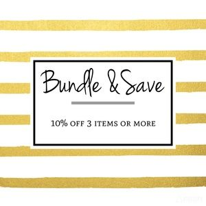 Other - BUNDLE for a discount ☀️✨🌟⭐️
