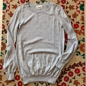 F21 Rhinestone Sweater
