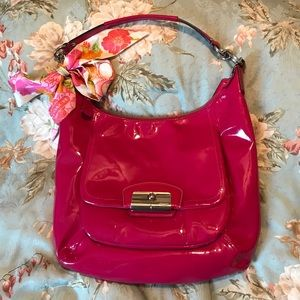 Hot Pink Coach Purse
