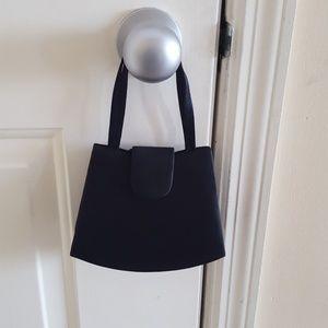 Handbags - Black Fabric Evening Bag