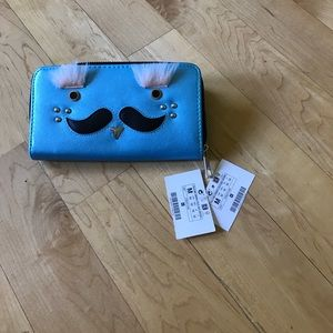Other - Cute blue wallet!