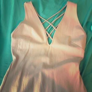 Bodycon WINDSOR light pink dress