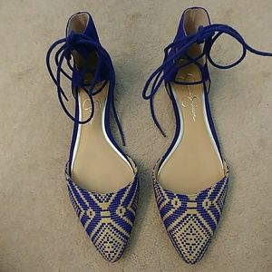 Jessica Simpson lace-up Flats