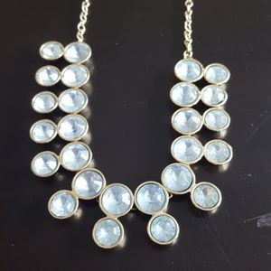 Jewelry - Light Blue & Gold Necklace - Fashion Jewelry