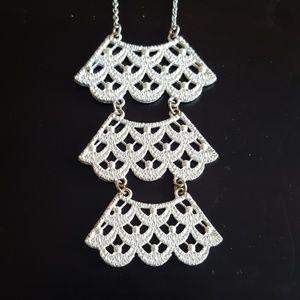 Jewelry - Silver Necklace - Fashion Jewelry