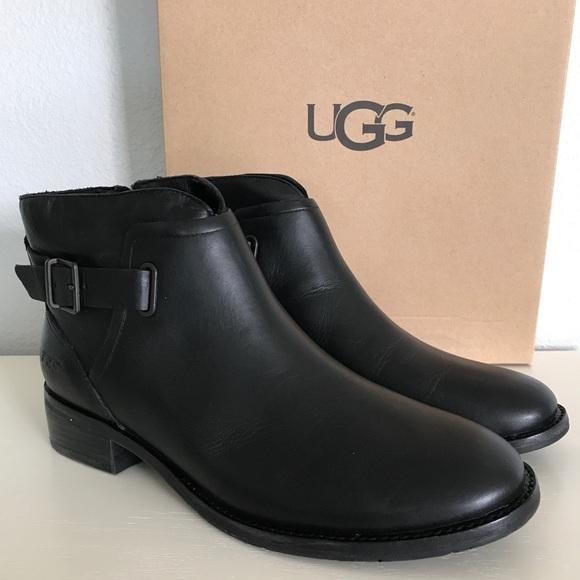 87a2db65944 UGG Black Barnett Boots (unlined) NWT