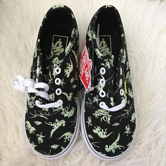9dad40e80e4b Vans toddler dinosaur shoes