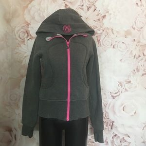 Lululemon scuba sweater jacket size 8 HTF