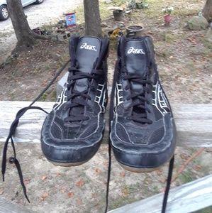 Asics split Second Westling Shoe's Men's Size 10.5
