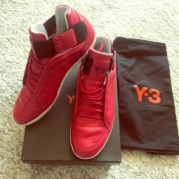 392d48051 Y-3 Kazuhiri Red Sneakers for men