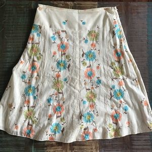 Ixia Embroidered Skirt