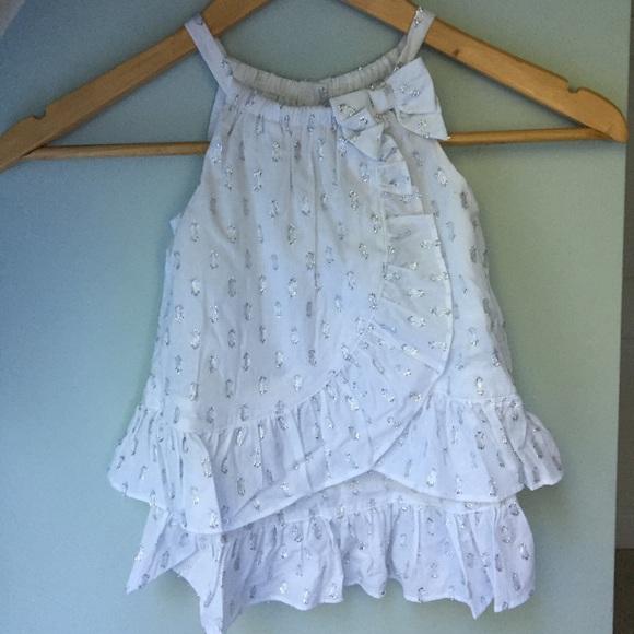 9ac5b0e37c Janie and Jack Other - Janie   Jack White and Silver Dress Size 12-18