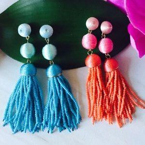 Jewelry - 🤑WEEKEND SALE Les Bonbon Studs Bead Tassels