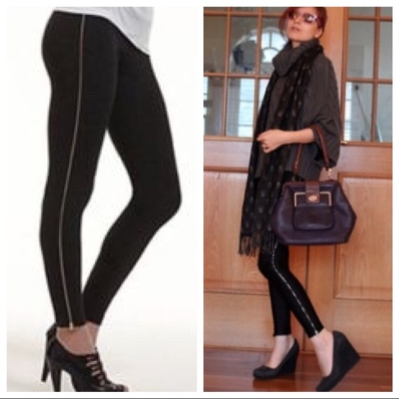 9b9bcab4043d15 Theory Pants | Side Zipper Leggings | Poshmark