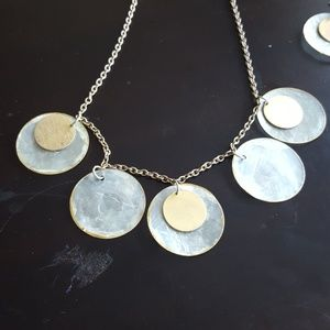 Jewelry - Shell & Gold Necklace & Earrings - Fashion Jewelry