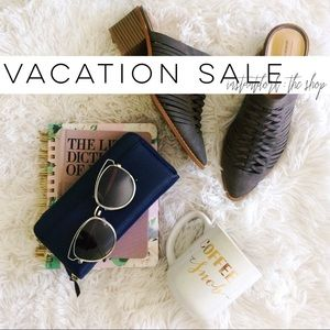 VACATION SALE • ends 06/04