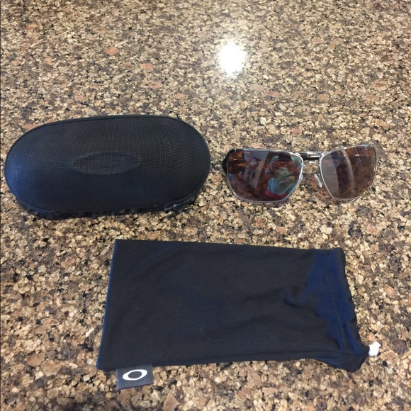 b10bf36d9b90b Oakley inmate sunglasses with silk and hard case.  M 597e5b604127d03c6d0cc1de. Other Accessories ...