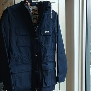 Penfield Rain Jacket, Navy, Size S